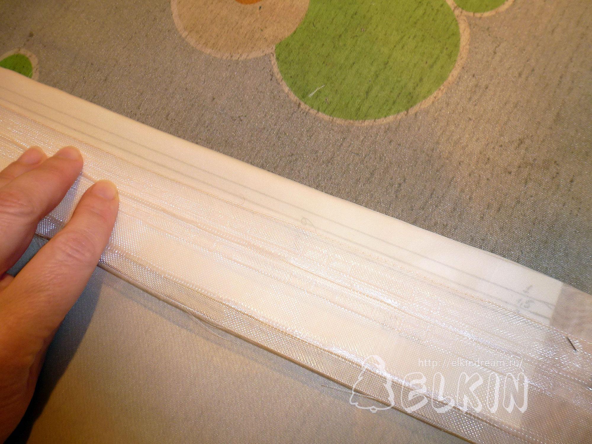 Как подшить тюль в домашних условиях фото
