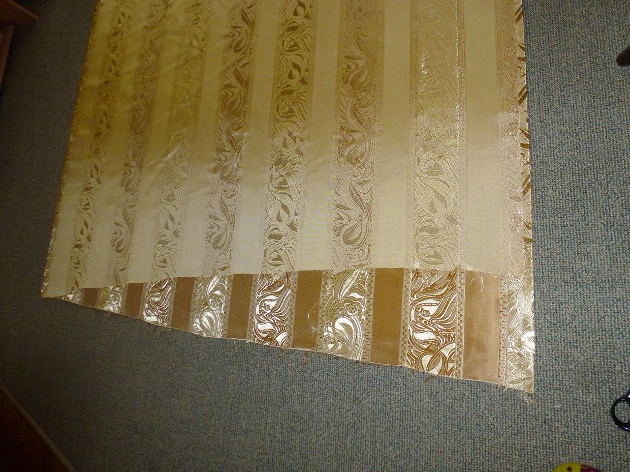 Покупка ткани для штор